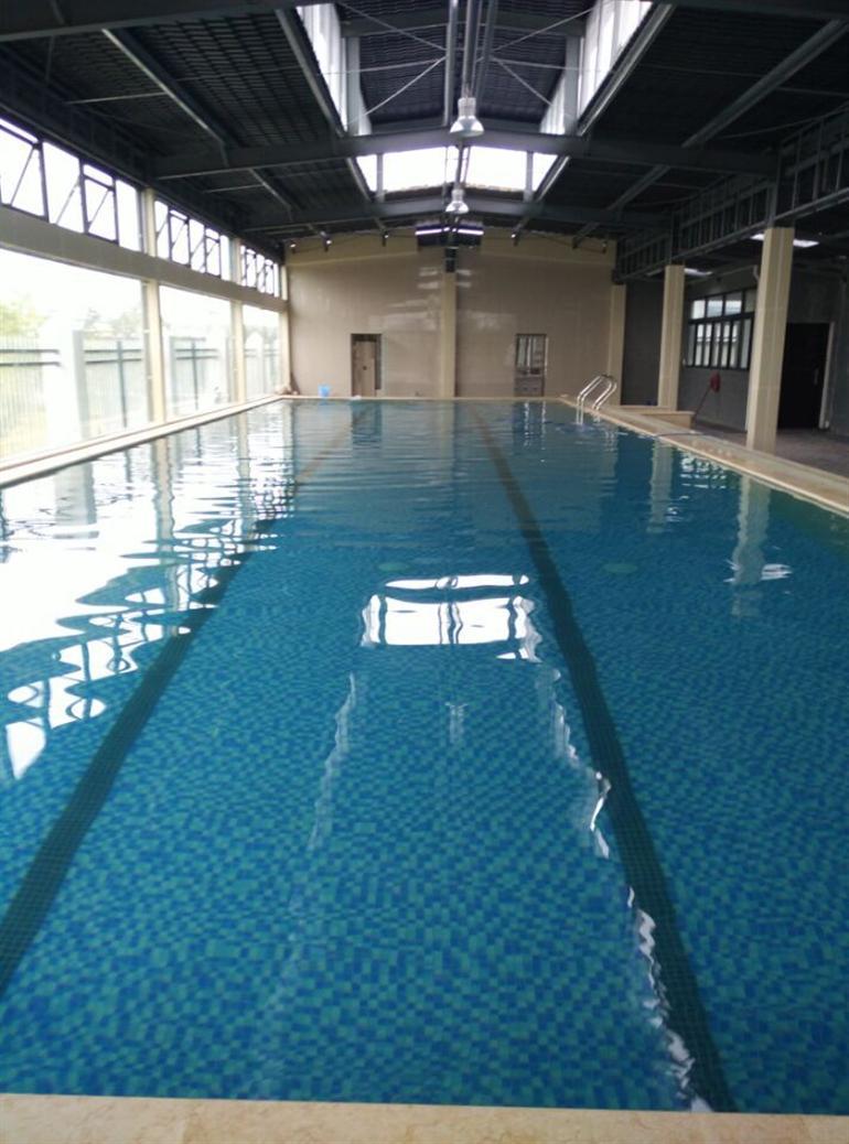 湖北华信集团游泳池设备工程